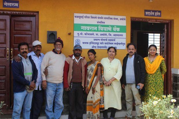 Visit to Padmashri Awardee Rahibai Popare Seed Bank, Kombhalne, Ahmadnagar Dist.